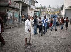 ช่วยในเฮติ เป็นงานใหญ่สุดในประวัติศาสตร์กาชาด