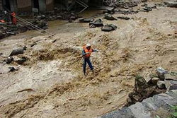 ชาวจีน 1.3 ล้านคนอพยพหนีน้ำท่วม