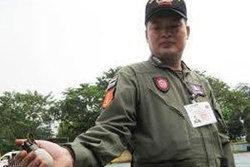 พบระเบิดลูกเกลี้ยง เอ็ม 26 ที่ตู้เอทีเอ็ม ธ.กรุงเทพ บ้านสันกลางเหนือ จ.เชียงใหม่