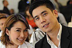 ย้อนรอยหวานก่อนประกาศแต่งงาน แบงค์-นิหน่า คู่รักต่างขั้ว!!