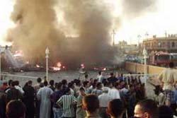 ระเบิดพลีชีพ ในอิีรัก สยองตายเกลื่อนโบสถ์