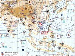 """เตือนภัย! พายุ """"จันทู"""" เคลื่อนตัวเข้าไทยแล้ว"""