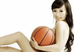 เปลือยเชียร์! ดาราสาวจีนเปลือยเชียร์นักบาสเก็ตบอลทีมชาติจีน