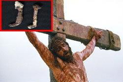 ฮือฮา!นักสร้างหนังค้นพบ ตะปูตรึงกางเขนพระเยซู