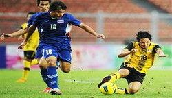แข้งซีเกมส์ไทย ประเดิมพ่ายมาเลย์1-2