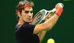 """""""เฟเดอเรอร์"""" เข้ารอบ 2 เทนนิสกาตาร์ โอเพ่น"""