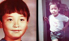 ชาย ชาตโยดม, มิค บรมวุฒิ สองพี่น้องตอนเด็ก