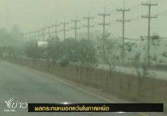 ภาคเหนืออากาศวิกฤต พิษควันไฟไหม้ป่า