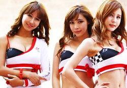 รวมพริตตี้ฟอร์มูล่าวัน(F1)ฉบับเกาหลี