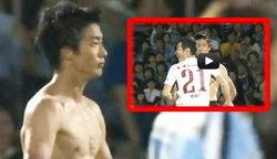 แข้งญี่ปุ่นอินเทรนด์เบ่งกล้ามแบบเกรียนโอ้