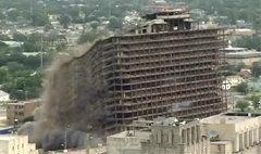 ตะลึง! สหรัฐระเบิดโรงแรม ถล่มพังในพริบตา