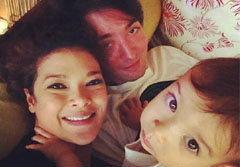 ภาพครอบครัวสุขสันต์ ฮิวโก้ ฮาน่า น้องฮาร์เปอร์