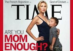 วิจารณ์ยับ! เด็กโตดูดนมแม่ ขึ้นปกนิตยสารไทม์