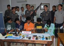 ตร.ธัญบุรีจับกุมแก๊งค้ายายึดปืนเอ็ม16