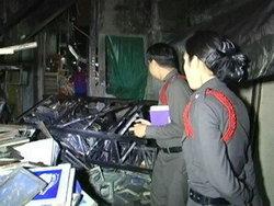 มือมืดลอบเผาจุฬาฯซอย2ชาวบ้านช่วยกันดับทัน