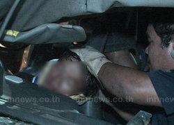รถลำไยชนประสานงากระบะจันทบุรีเจ็บ20
