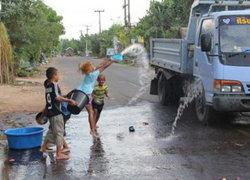 เตือนเด็กเล่นน้ำนานเสี่ยงโรคระบบหายใจ