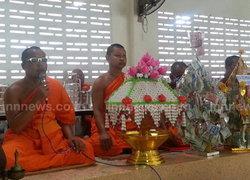 ไทย-พม่าร่วมทำบุญส่งท้ายสงกรานต์ระนอง