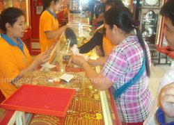 ตลาดทองคำชายแดนตากคึกไทย-พม่าแห่ซื้อ