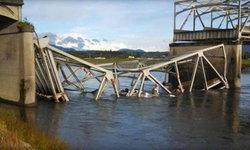 สะพานเหล็กข้ามแม่น้ำถล่ม รถยนต์รตกน้ำ ไม่มีรายงานเสียชีวิต