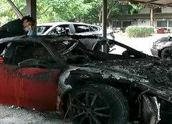 พบเหตุรถหรูไหม้เกิดจากอีซียูของรถบีเอ็ม