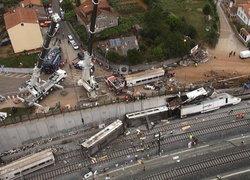 กษัตริย์สเปนเสด็จเยี่ยมผู้รอดชีวิตเหตุรถไฟตก