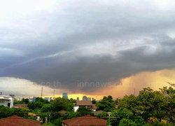 อุตุฯพยากรณ์เที่ยงวันฝนลดลงในทุกจุดแล้ว