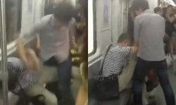 คลิปฉาว! จีนไฟต์ หนุ่มต่อยคนรุ่นพ่อบนรถไฟใต้ดิน
