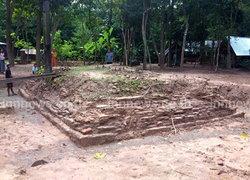 ศรีสะเกษขุดพบพระอุโบสถโบราณกว่า300ปี
