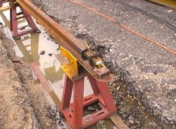 เตรียมซ่อมรางรถไฟจากลำปาง-เชียงใหม่