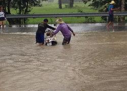 อ.คงโคราชอ่วม! น้ำท่วม 1 ตำบล 8 หมู่บ้าน