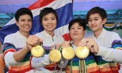 เฮลั่น! สาวไทยดับฝรั่งเศส คว้าแชมป์เปตองโลก