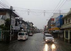 ลำปาง ฝนตกหนักน้ำท่วมขังหลายจุด