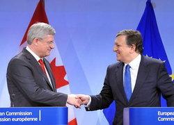 แคนาดาบรรลุข้อตกลงการค้าเสรีกับEU