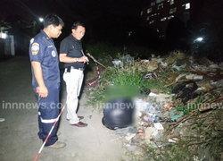 พบศพเด็กทารกยัดถุงดำทิ้งขยะย่านเมืองนนท์
