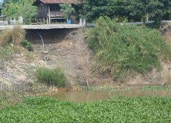 อ่างทองส่อเค้าภัยแล้งหลังแม่น้ำเจ้าพระยาลด