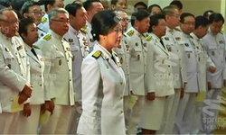 นายกฯ เข้าสโมสรทหารบก นำถวายสัตย์ปฏิญาณเป็นข้าราชการที่ดี