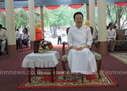 ปราจีนฯจัดพิธีบำเพ็ญกุศลครบ50วันพระสังฆราช