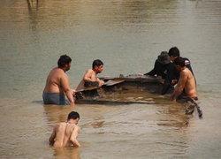 สุโขทัยฮือน้ำลดเรือจูงสมัยโบราณกว่า50ปีผุด