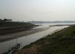 จีนปิดระบายน้ำส่งผลให้แม่น้ำโขงลดลงเร็ว