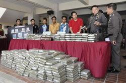 ตร.ภาค7จับกัญชาอัดแท่ง500กก.ค่า5ล้าน
