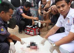 พบศพทารกชายซุกถังขยะเมืองศรีมหาโพธิ