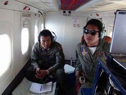 ทัพเรือภาคที่2ช่วยค้นหาบินมาเลย์ที่สูญหาย