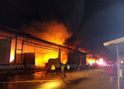 ไฟไหม้โรงงานรีไซเคิลโกดังวอด1หลัง