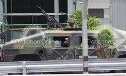 ทหารคุมสถานีไทยคมลาดหลุมแก้ว-หน้าตชด.ภาค 1-วิทยุโกตี๋ยังออกอากาศ