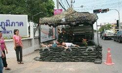 ทหารคุมเข้มโรงไฟฟ้าลำตะคอง