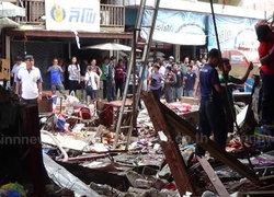 ระเบิดร้านสังฆภัณฑ์ตลาดวิเศษฯอ่างทองเจ็บ16