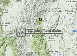 ศภช.รายงานแผ่นดินไหวแม่สรวยเชียงราย3.5 R