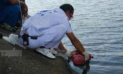 ไทยมุงร่ำไห้! พบศพทารกลอยอืดคาดโยนน้ำทั้งเป็น