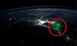ฝรั่งสงสัย? แสงสีเขียวประหลาดลอยทั่วอ่าวไทย